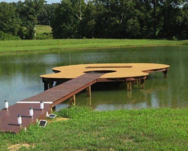 dock, carpentry, guitar, win
