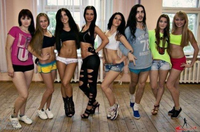 girls, ballet, dancers, guy