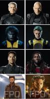 x-men, future past, new movie, cast photographs, characters