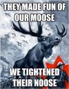 canada day, moose, noose, meme