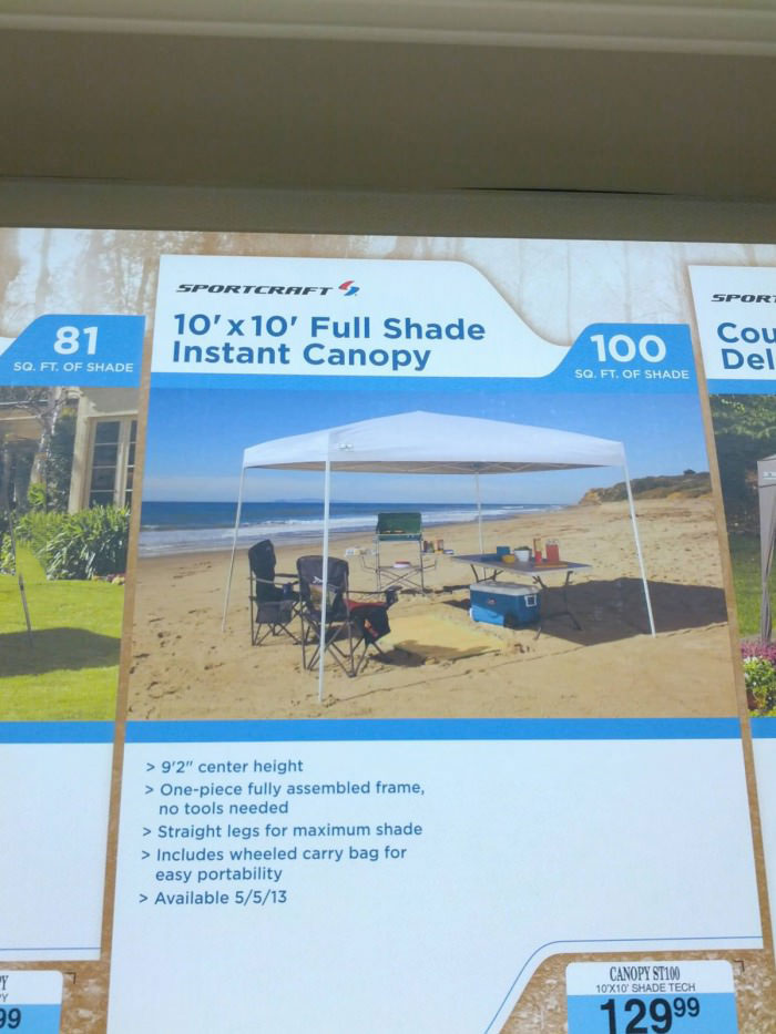 full shade instant canopy, product, image, promotion, fail