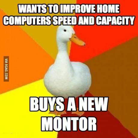 tech, impaired, for dummies, lol, dumb, meme