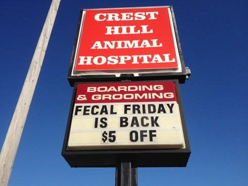 sign, fecal friday, wtf, lol