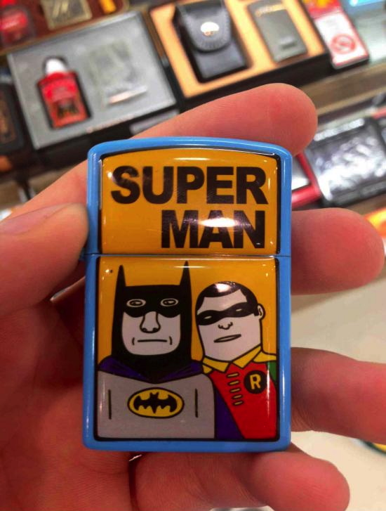superhero, batman, robin, superman, fail, zippo