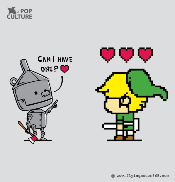link, tin man, wizard of oz, heart