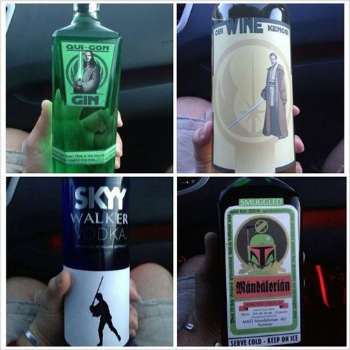 star wars, hard alcohol, product