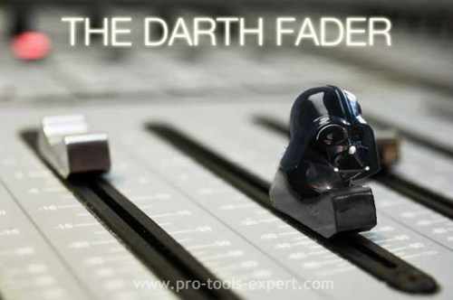 pun, wordplay, darth fader, vader, mixer