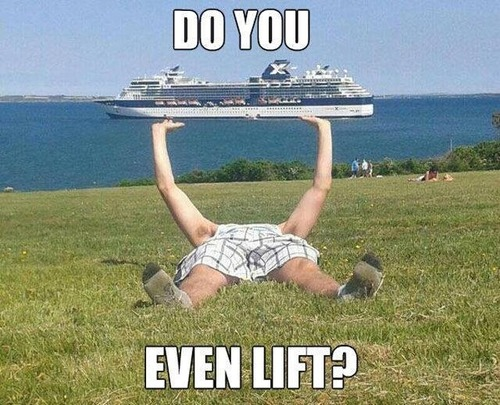 do you even lift, boat, perspective, meme