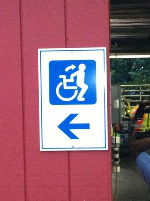 sign, wtf, wheelchair, walk