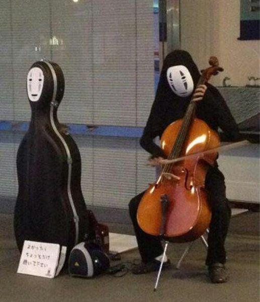 anime, musician, cello