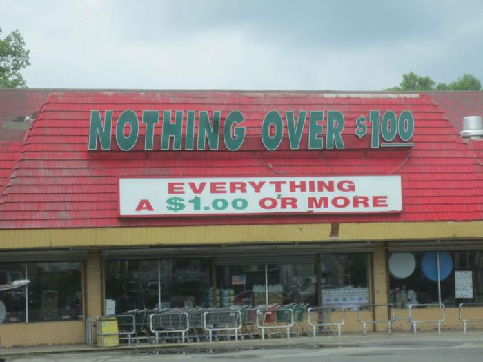 dollar store, sign, fail, wtf