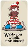 waldo, india, finds himself