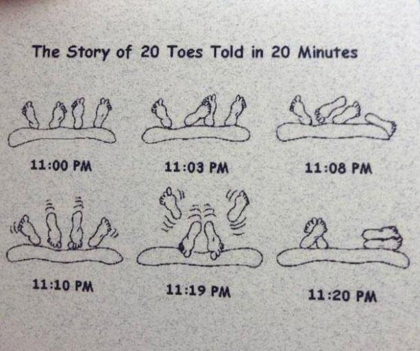 tale, 20 toes, twenty minutes, lol