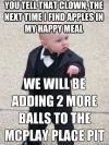 meme, mafioso kid, mcdonald's, happy meal