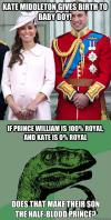 half blood prince, royal baby, philoceraptor, meme