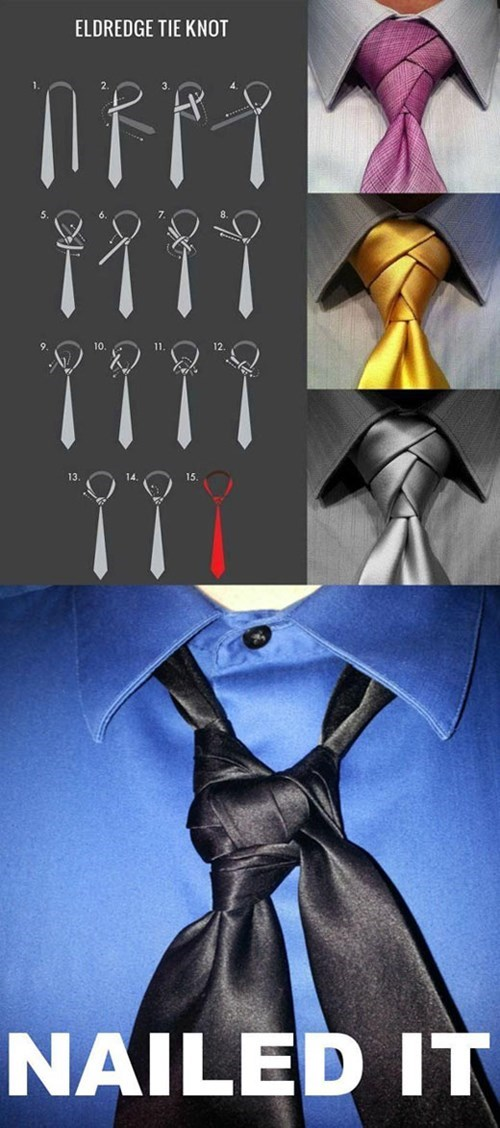 tie, knot, how to, nailed it, fail