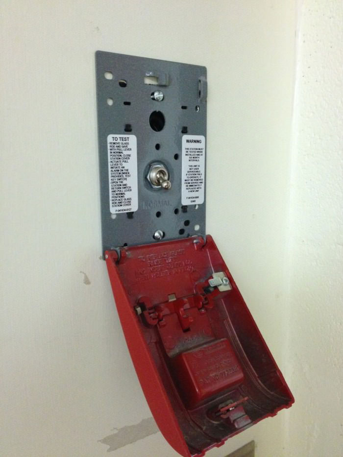 fire alarm, switch