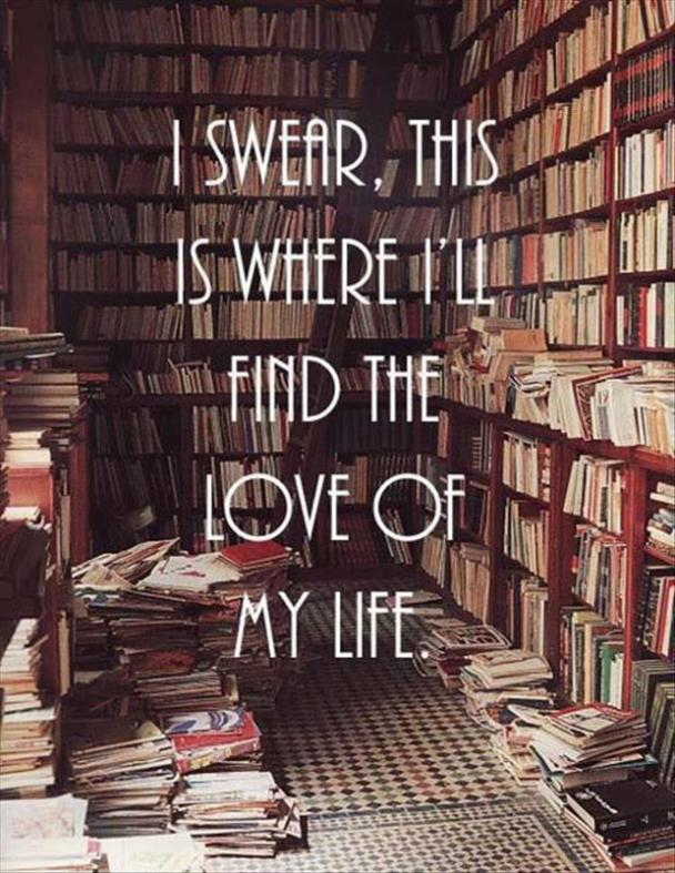 love of my life, forever alone, books