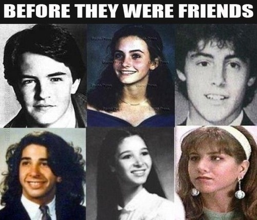 friends, cast, actors, actresses, before they were friends