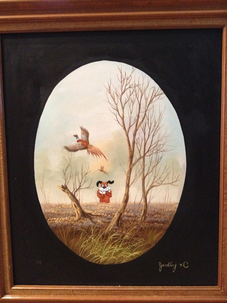 duck hunt, painting, video game, art