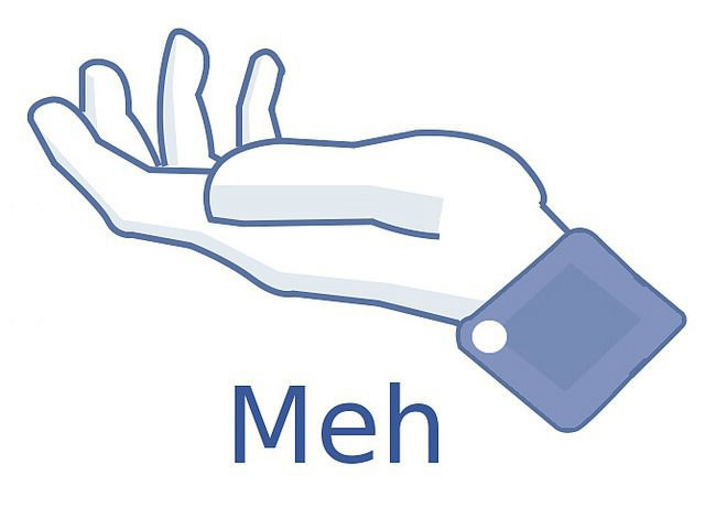 facebook, meh