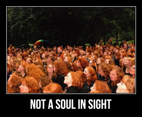 ginger, crowd, soul, motivation, people, red head, hair