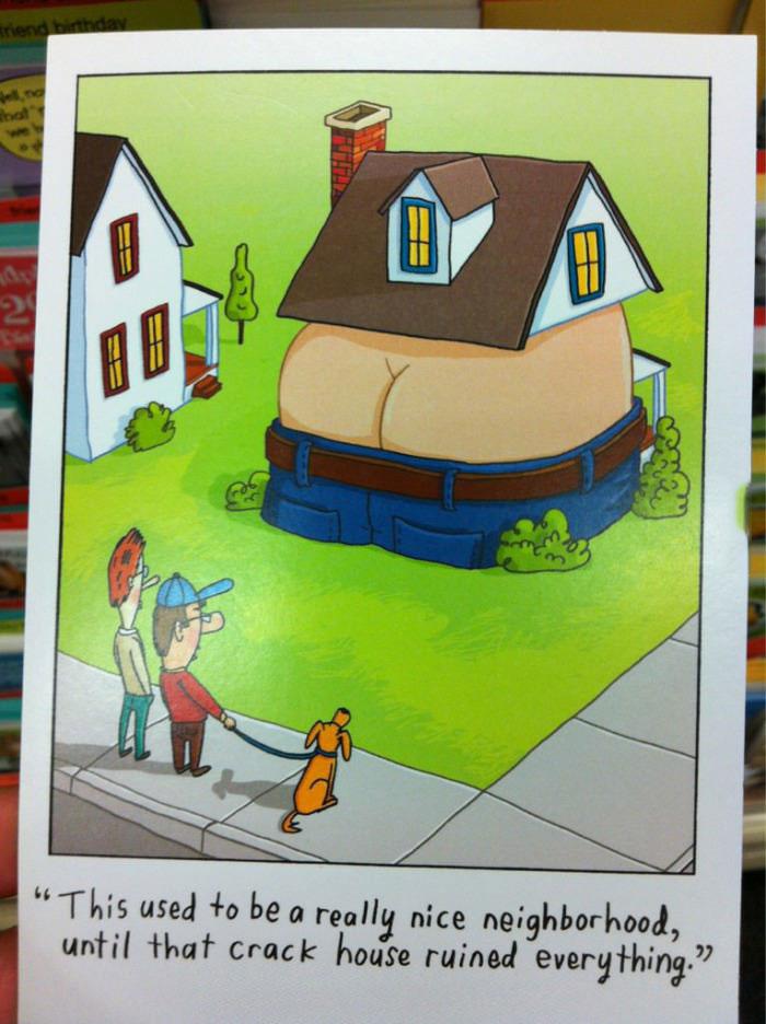 crack house, comic, joke, pun