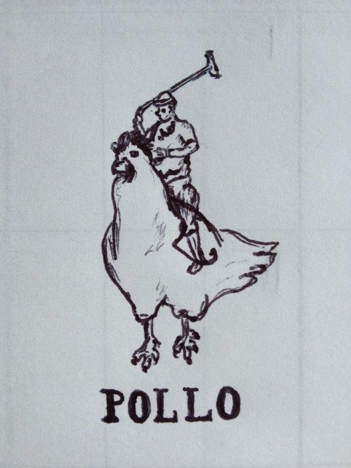 polo, chicken, wtf, lol, art, drawing