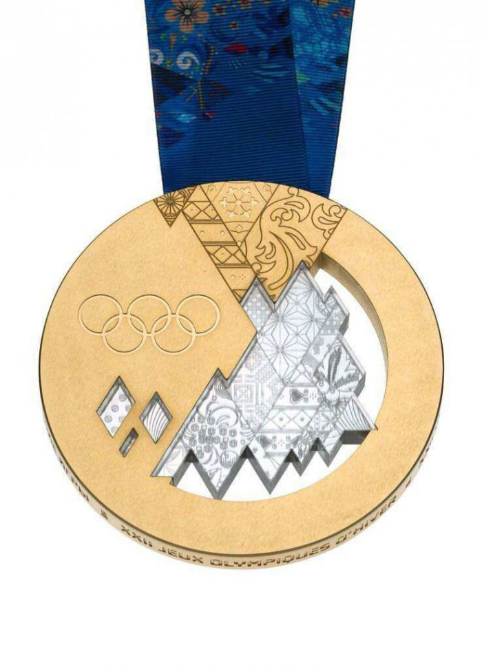 olympic gold medal 2014
