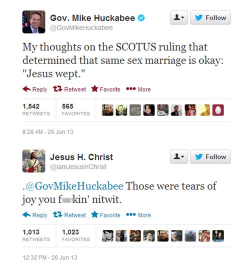 twitter, gay marriage, scotus, jesus