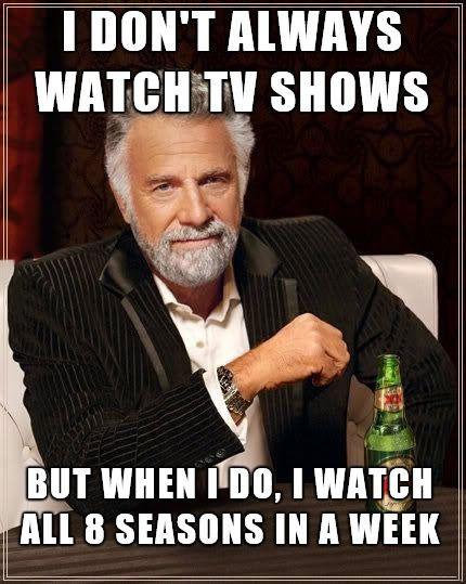 meme, most interesting man, tv shows, all seasons