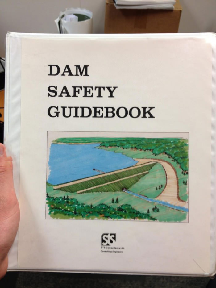 dam safety guide, book, wordplay