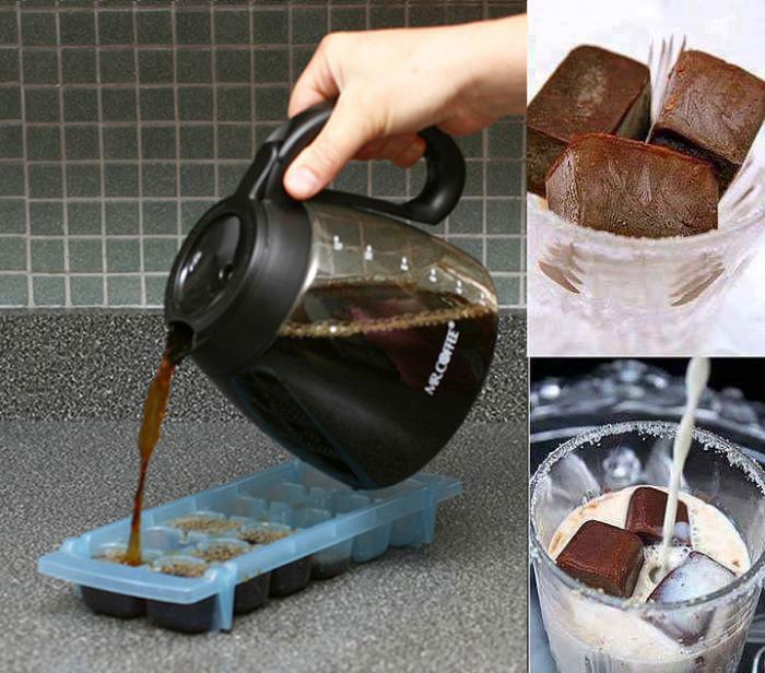 iced coffee, idea, ice cube tray