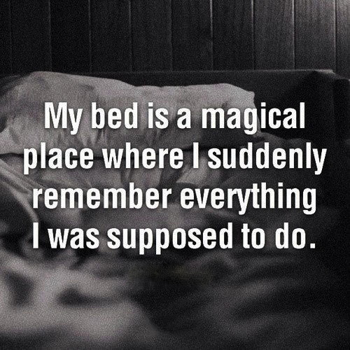bed, magic, remember everything