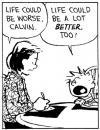 life, better, worse, calvin & hobbes