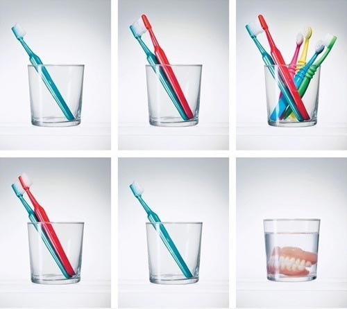 life, toothbrush, evolution, teeth, glass