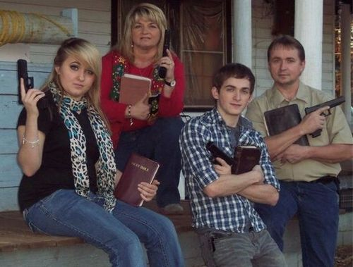 bible, guns, 'murica, wtf, fail, bad parenting
