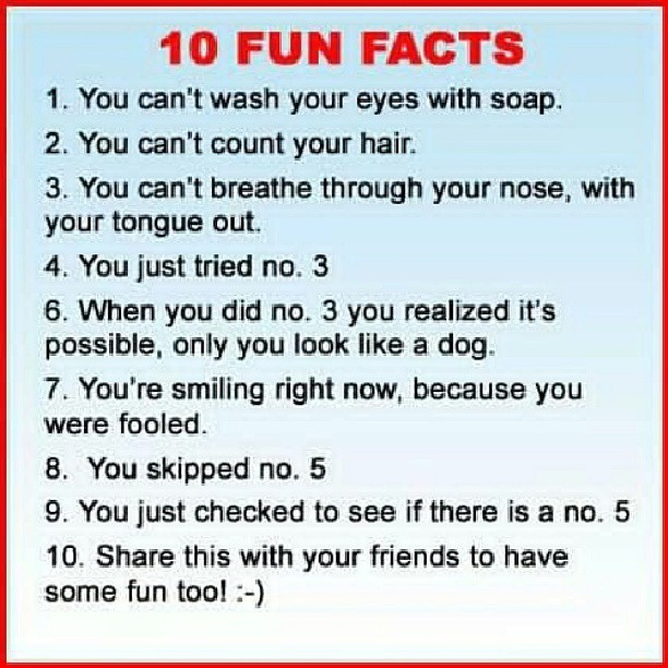10 fun facts, troll