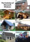 windows, evolution, houses
