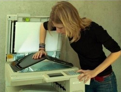 photocopier, scanner, printer, laptop, wtf