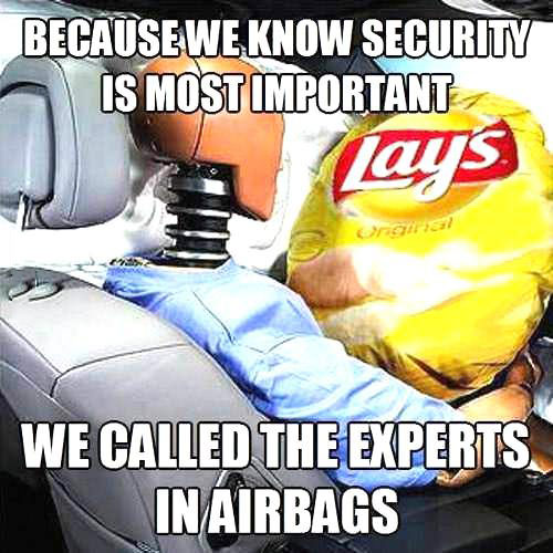 lays, airbags, chips, meme, security, experts, lol, diss