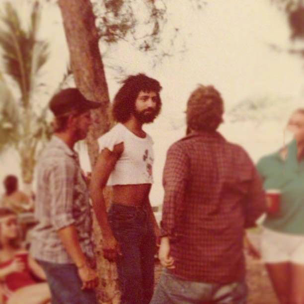 70s, poorly dressed, short cut shirt, wtf