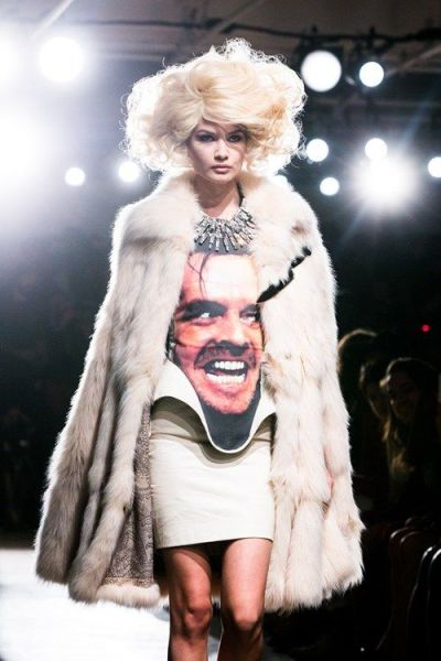 fashion, wtf, here's johny, model, lol, jack nicholson