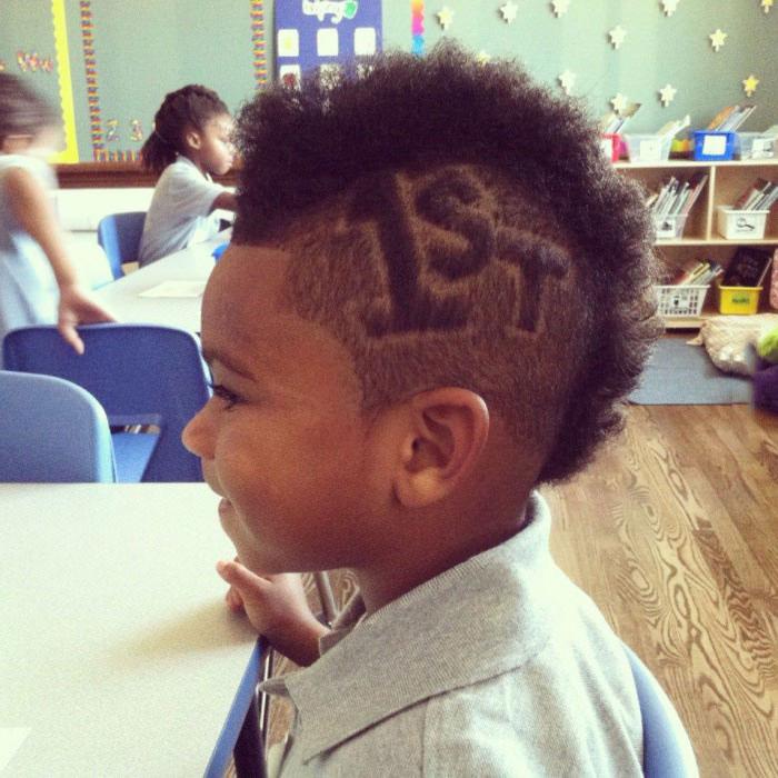 1st day of school hair cut, cute