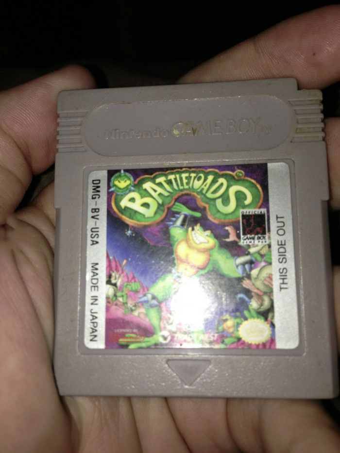 gameboy, battletoads, video game