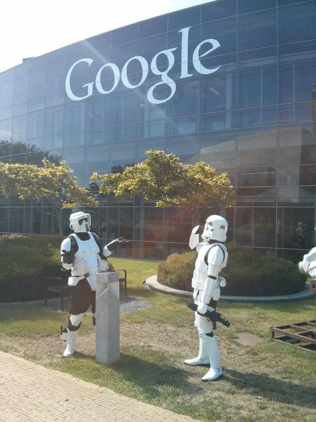 storm troopers, star wars, google