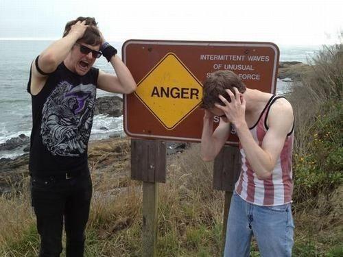 sign, hacked irl, anger, danger, lol