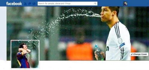 soccer, water, profile pic, spraying water from mouth, timeline photo