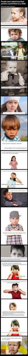 children, scared, bad parenting, compilation