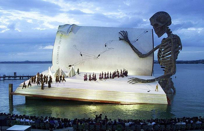 massive theatre win, water, skeleton, book, wow, arts